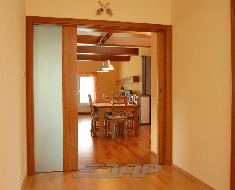 Раздвижные двери задвигающиеся в стену - делаем правильный в.